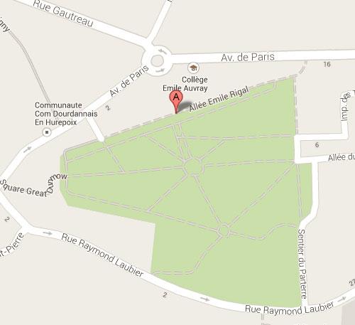 Tous les ateliers ont lieu au 1er étage du bâtiment Emile Auvray, Allée Rigal, Dourdan (91)